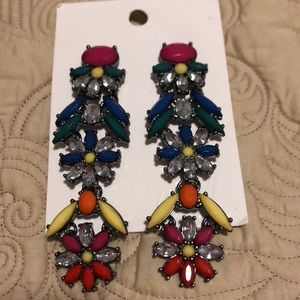 3 for $15 H&M fashion multi color dangly earrings